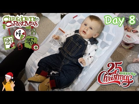 Reborn Countdown to Christmas! Changing...