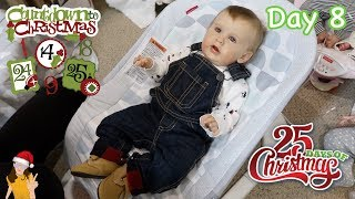 Reborn Countdown to Christmas! Changing Baby Teddy - Day 8 | Kelli Maple