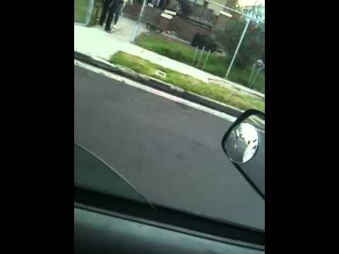 40s crip gang get beat up