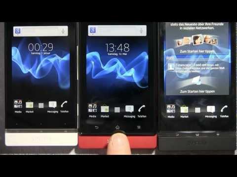 Sony Xperia P: Unboxing und erster Eindruck