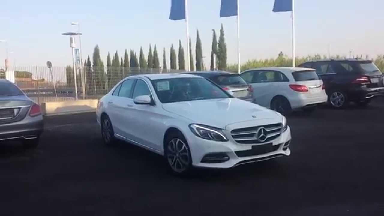 parcheggiare senza problemi con mercedes-benz - youtube