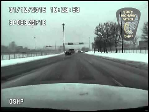 World's luckiest guy gets ejected in crash, walks away