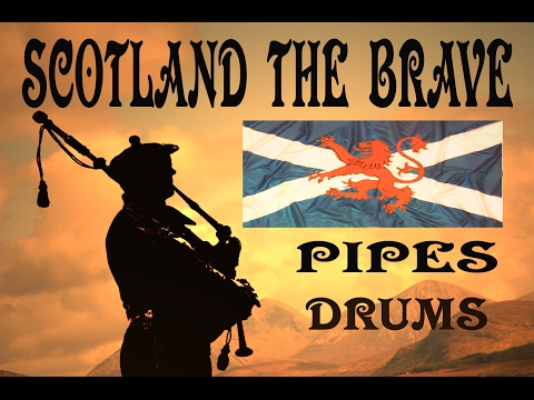 ⚡️SCOTLAND THE BRAVE ♦︎ THE BLACK BEAR -PIPES & DRUMS⚡️