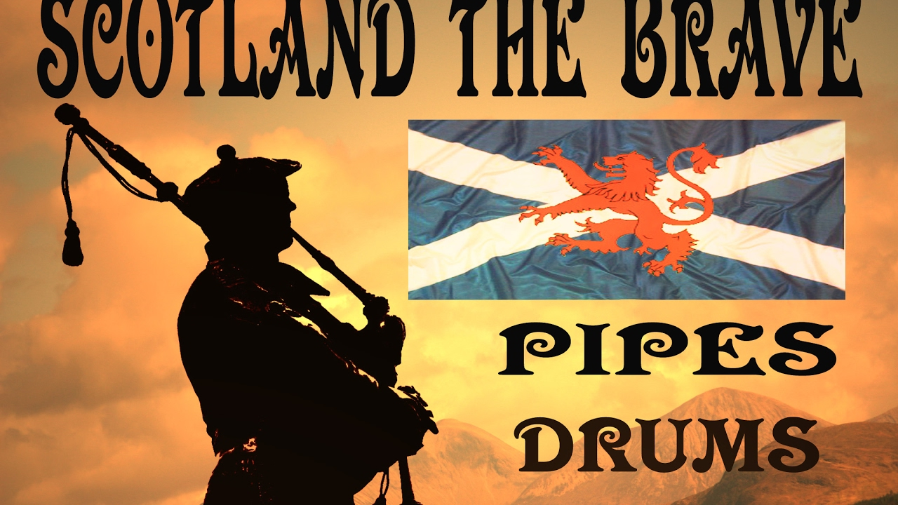 SCOTLAND THE BRAVE - THE BLACK BEAR -PIPES & DRUMS Chords ...
