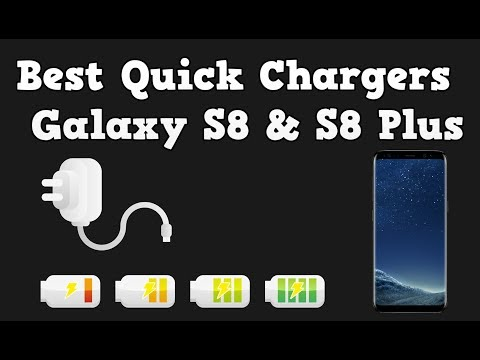 Best Quick Chargers For Galaxy S8 & S8 Plus - Also For S7, S7 Edge, S6 And S6 Edge