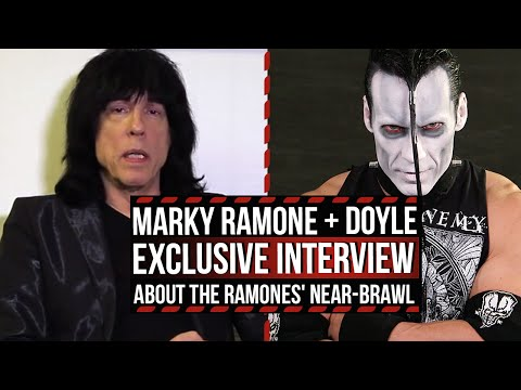Marky Ramone + Misfits' Doyle Recall Near-Brawl With Joey Ramone