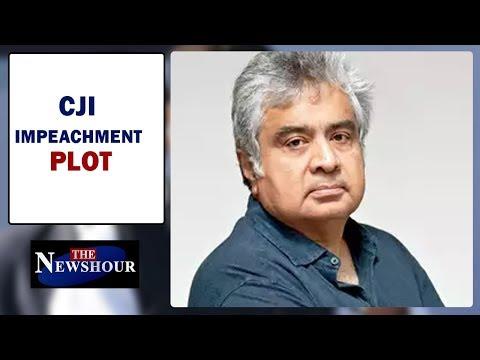 Harish Salve Speaks Over CJI Impeachment Plot In Judge Loya Case I The Newshour Debate(20thApril)