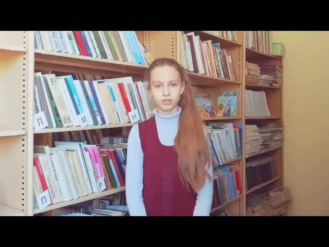 Изображение предпросмотра прочтения – КоноваловаЛилия читает произведение «Няне» А.С.Пушкина