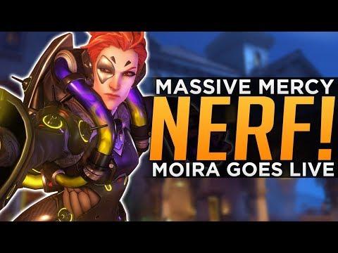 Overwatch: Moira is LIVE! - BIG Mercy NERF & Ana BUFFED! thumbnail