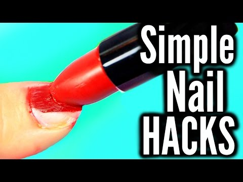 10 Simple Nail Hacks Everyone Should Know!