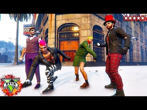 GTA 5 Heist - The BIG BANK Job - Grand Theft Auto 5 Online - (GTA 5 Heist)