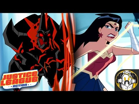 """Justice League Action Season 1 Episode 1 """"Power Outage"""" Review"""