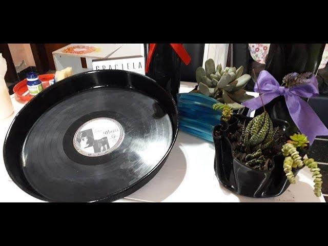 Reciclado De Discos De Vinilo O De Pasta Gracielaherman Youtube
