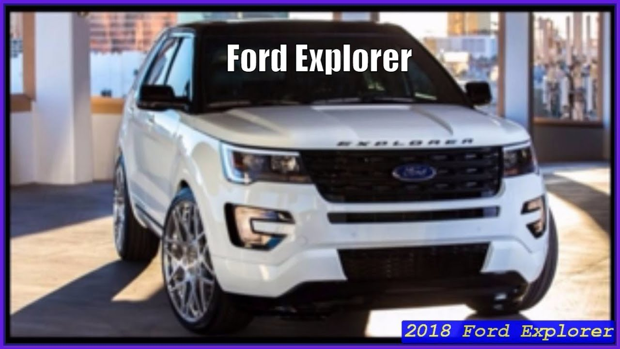 Ford explorer 2018 platinum interior exterior review