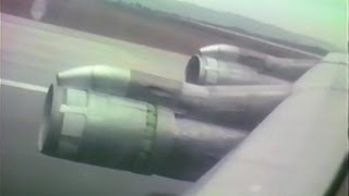 PLUNA Boeing 707 CX-BNU Buenos Aires - Montevideo - Rio - Madrid (16/02/1988)