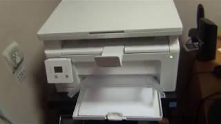 принтер HP Laser Jet Pro MFP M132a/Ремонт крепления под ролики протягивающие бумагу
