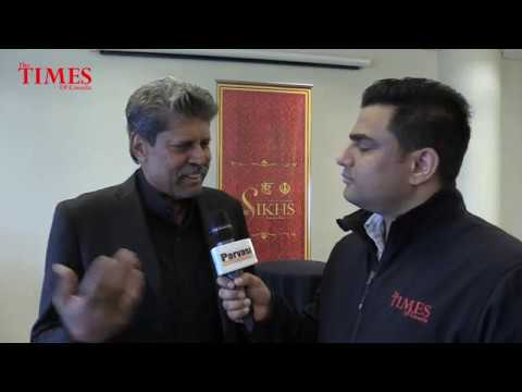 We The Sikhs Book Launch in Canada by Kapil Dev