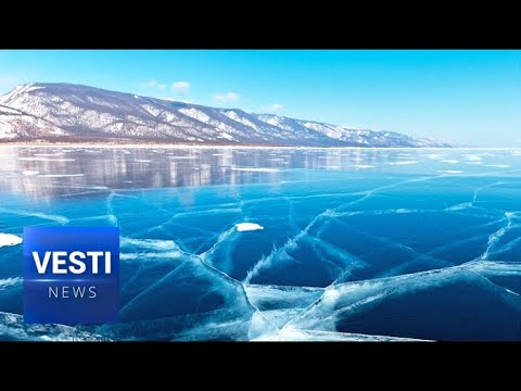 The Beauty of Baikal in Winter! Tourists Flock to Siberia to See this Natural Wonder!