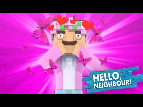 LITTLE KELLY TURNS INTO THE NEIGHBOUR! Minecraft Hello Neighbour w/TinyTurtle (Roleplay)