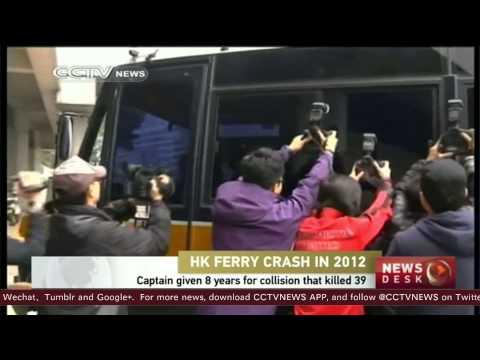 HK ferry captain sentence 8 years for manslaughter