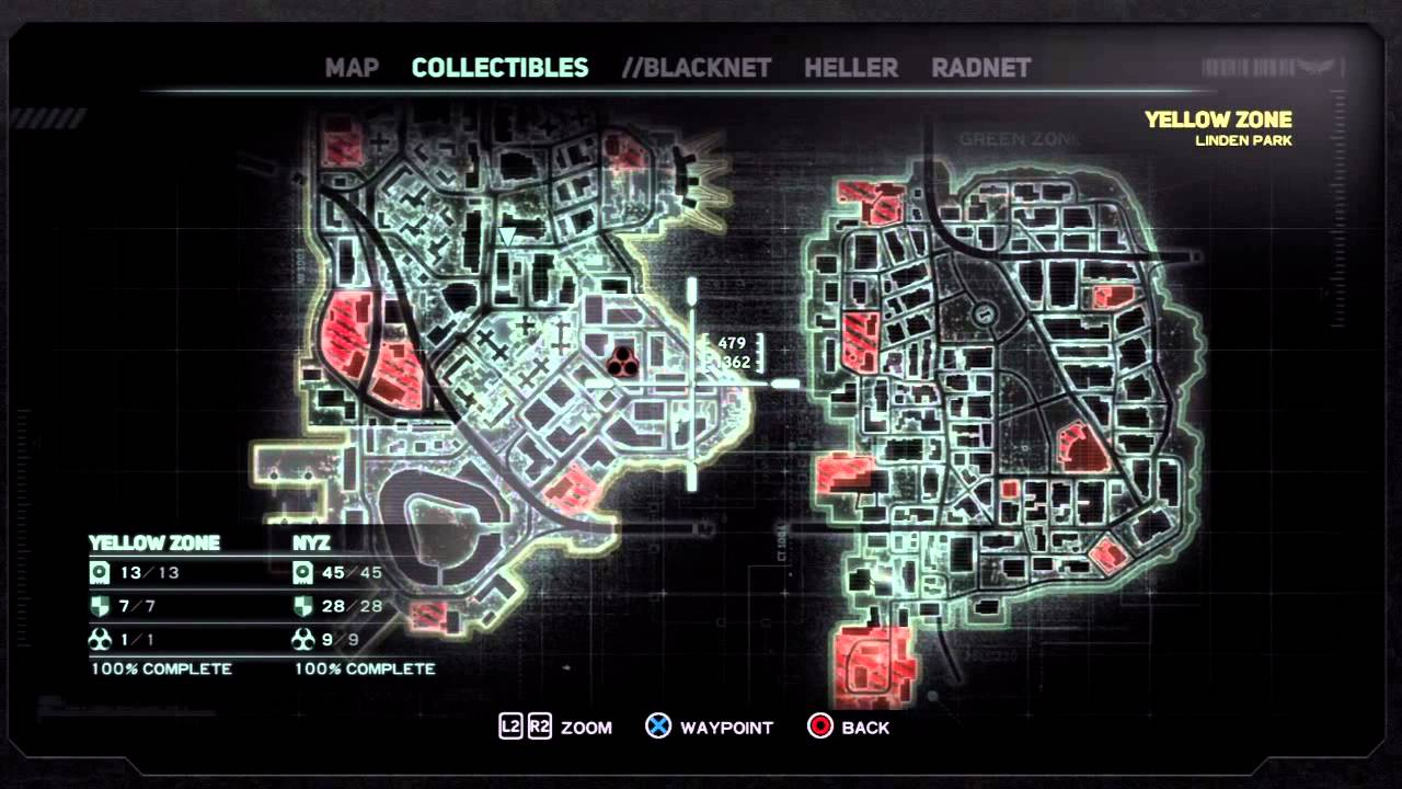 [Prototype 2] All Blackbox, Lairs, Field Op locations on