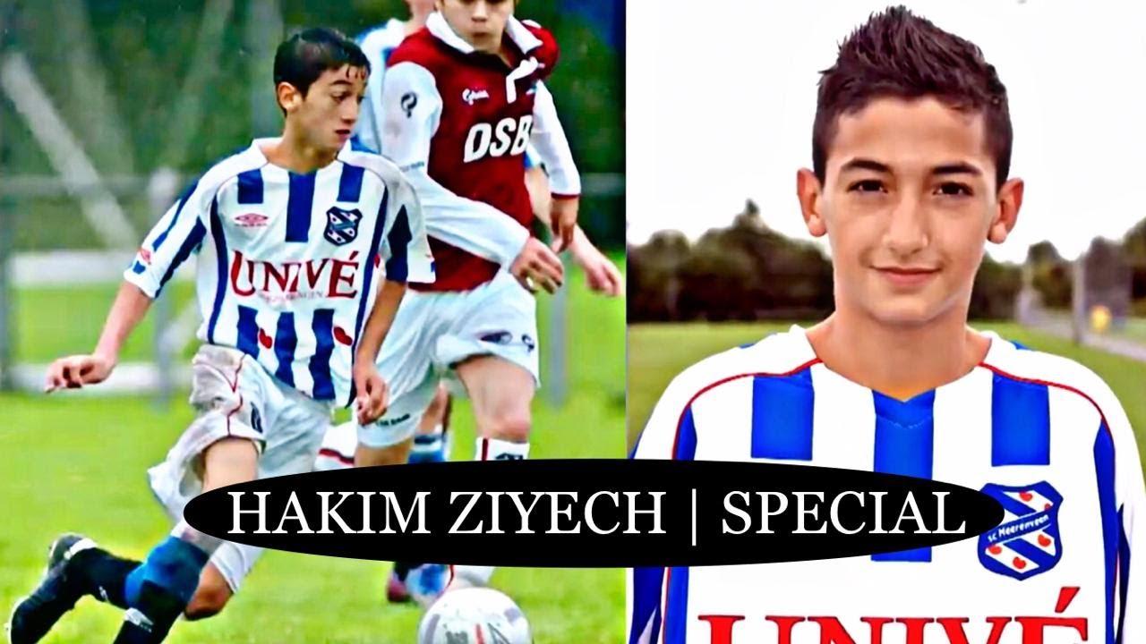 Hakim Ziyech -  All the years that  Ziyech accompanied sc Heerenveen 🔵🔴 |  Mini special