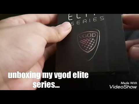 Unboxing my vgod elite