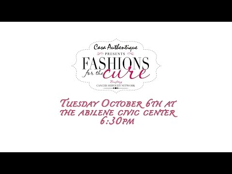 Abilene Fashions For the Cure 2015