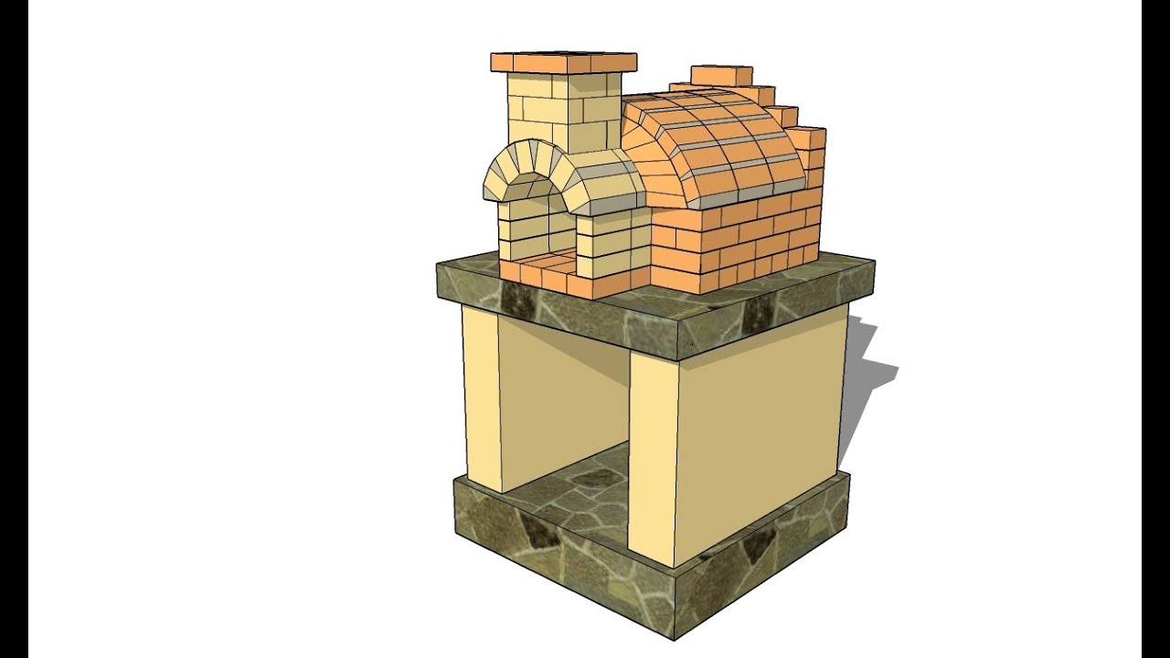 Free Pizza Oven Plans - YouTube