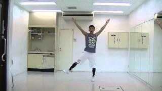 エアロビクス ハイ・インパクト 初中級コリオ 2015.8.8土 byチャチャ田澤