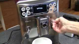 Crew Review: Saeco Exprelia Evo Superautomatic Espresso Machine