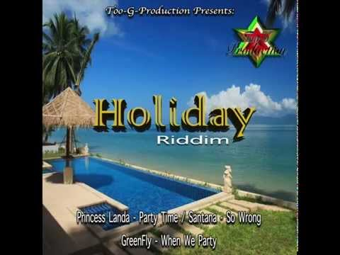 HOLIDAY RIDDIM [MIX] - TOO G PRODUCTION - 2014