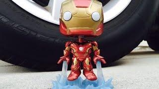 IRON MAN MARK 43 Marvel Avengers Age of Ultron Funko POP! Vinyl Bobblehead Review