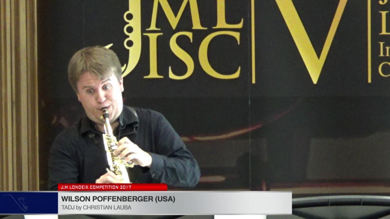 Londeix 2017 - Wilson Poffenberger (USA) - Tadj by Christian Lauba