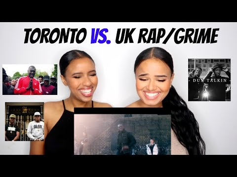 TORONTO vs. UK RAP/GRIME REACTION ft. YAS AND HALS! | Osh and Akela