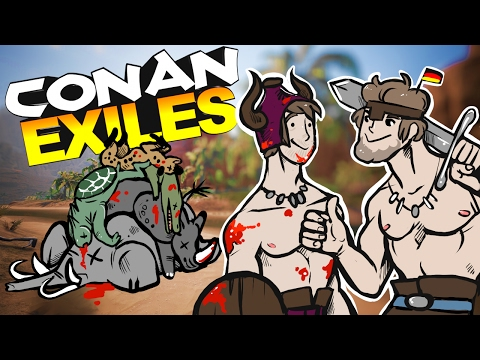 Conan Exiles - BEAST MASTER STALKS PREY & COLLECTS THE HEADS FROM ENEMIES #2 - Conan Exiles Gameplay