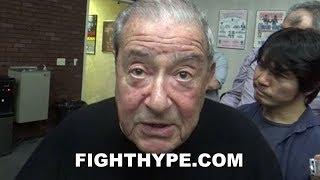 """BOB ARUM GETS DEEP ON AL HAYMON'S """"PROBLEM"""", TOP RANK'S MOVE TO ESPN, AND THE EVOLUTION OF BOXING"""