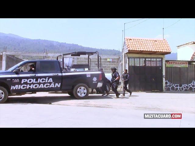 SSP habla sobre los hechos ocurridos en Arantepacua Michoacán