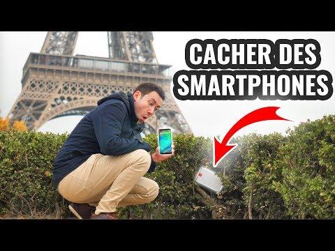 JE CACHE DES SMARTPHONES EN FRANCE