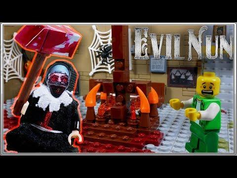 LEGO Мультфильм Evil Nun /  LEGO Stop Motion