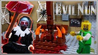 LEGO Мультфильм Evil Nun / LEGO Stop Motion...