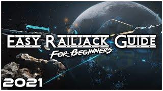Easy Railjack Guide | Warḟrame Railjack Beginner's Guide 2021