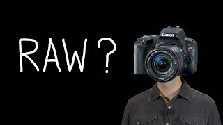 Why Shoot in Raw?