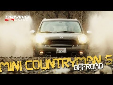 Driving Sports TV  RoughRoading the 2011 MINI Countryman S