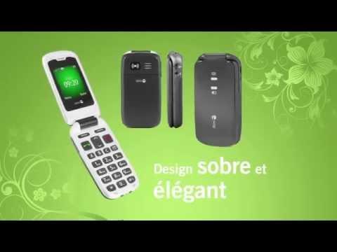 telephone mobile doro 605 clapet par prevenchute youtube. Black Bedroom Furniture Sets. Home Design Ideas