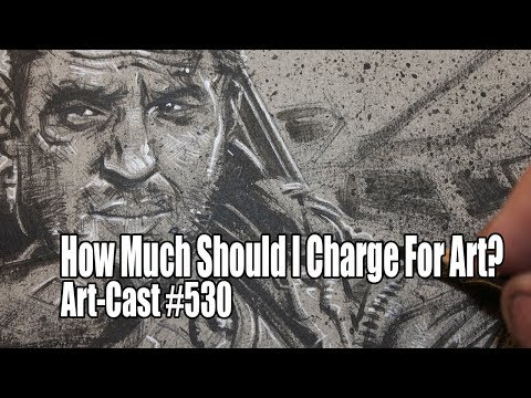 How Much Should I Charge For My Art? / Viewer Question