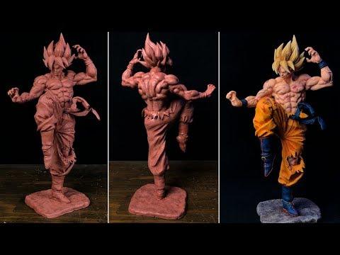 Sculpting Goku Super Saiyajin | Dragon Ball Z - EP.1