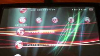 How To Install A PSP Theme, Icons and XMB Waves!