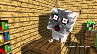 Monster School Brewing Minecraft Animation mine...
