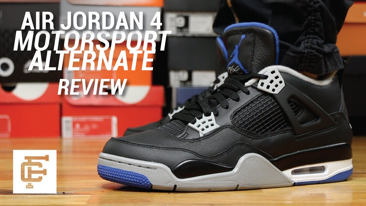 new style fcda5 e2f52 AIR JORDAN 4 MOTORSPORT ALTERNATE REVIEW
